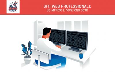 Siti web professionali a Torino. Le imprese li vogliono così!
